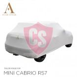 MINI Cabrio R52 R57 F57 Indoor Autoabdeckung - Maßgeschneidert - Weiß