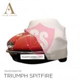 Triumph Spitfire Autoabdeckung - Maßgeschneidert - Weiß