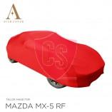 Mazda MX-5 RF Autoabdeckung - Maßgeschneidert - Rot