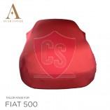 Fiat 500 500C Autoabdeckung - Rot