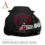 Mercedes-Benz R230 SL Wasserdichte Vollgarage - Star Cover - Spiegeltaschen