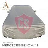 Mercedes-Benz W113 Pagode Wasserdichte Vollgarage - Star Cover - Militär Khaki