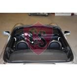 Toyota MR2 Roadster Überrollbügel + Windschott - BLACK EDITION 1999-2007