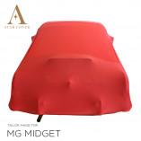 MG Midget Indoor Abdeckung - Rot