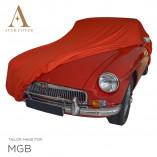 MG MGB Indoor Abdeckung - Rot
