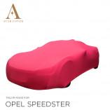 Opel Speedster Indoor Autoabdeckung - Maßgeschneidert - Rot
