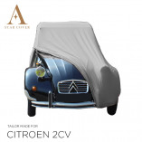 Citroen 2CV Indoor Autoabdeckung - Maßgeschneidert - Grey