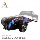 Donkervoort D8 Indoor Autoabdeckung - Maßgeschneidert - Grey