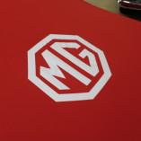 MG MGB Indoor Abdeckung - MG Logo - Rot