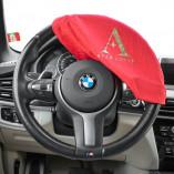 Lenkrad-Schonbezug Stretch - Rot